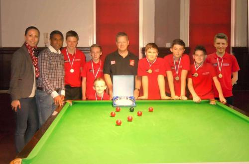 Junior Snooker Academy: Home And Away