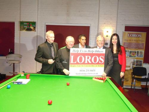 Exhibition Night With Dennis Taylor