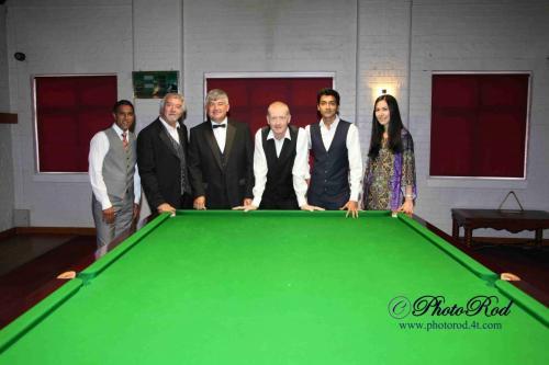 LOROS Pro/Celebrity Snooker Challenge 2014