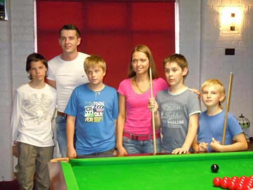 Russian Juniors Meeting Mark Selby